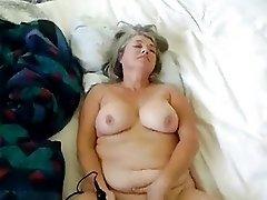 Mature Masturbating