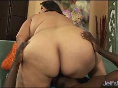 Fat Ass Lorelai Givemore takes black dick