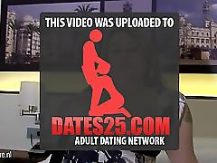 Big titted mature tattooed mom playing with h