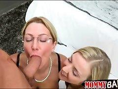 Karla kush and jennifer best horny threeway with horny