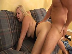 Plump Milf Gets It From Behind