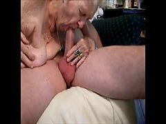 Granny Awesome blowjob!