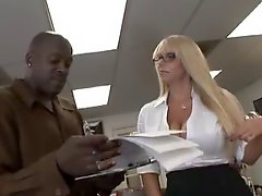 Karen Fisher Takes On Lexington Steele's Fuck Muscle!