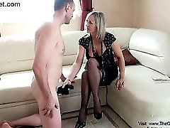 Hot Mature Hand Job HD