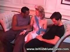 Hannah Harper Interracial Anal with Omar