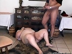 Fat experienced brunette gets fucked hard with a big di