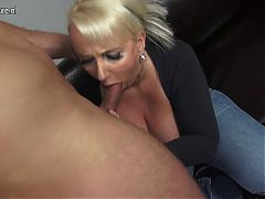 Gorgeous mother fucks young not her son