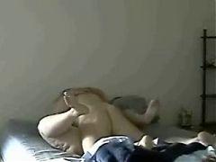 Chubby Girl vs Grandpas big dick