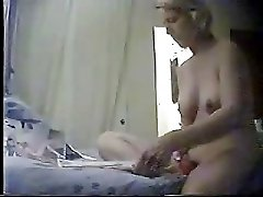 My nice mum usually masturbates in the morning