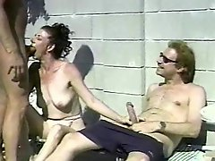 Mature Threesome By The Pool 81 SMYT