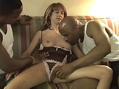 Sexy Redhead Wife Loves That Big Black Cock #2 elN