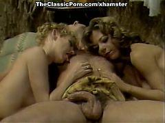 Karen Summer Cara Lott Paul Barresi in vintage fuck clip