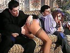 Simona Valli Hungarian Hairy MILF DP